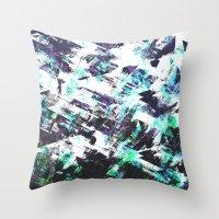 san diego Throw Pillows featuring San Diego by Kardiak
