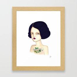Trust no one Framed Art Print