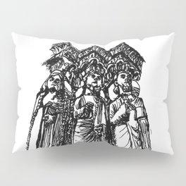 power of three Pillow Sham
