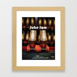 COLORING BOOK - A VISUAL ALBUM: JUKE JAM Framed Art Print
