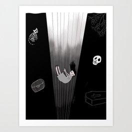 Bottomless Art Print