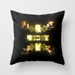 My Cubed Mind: Frame 085 Throw Pillow