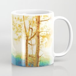 Faded Aspens Coffee Mug
