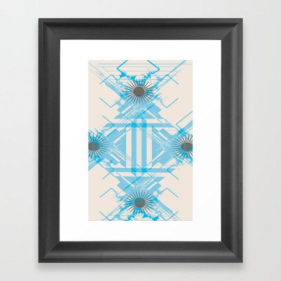 RoguePattern2 Framed Art Print