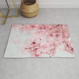 Meshed Up Sakura Blossoms Rug
