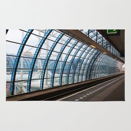 railway station Amsterdam Sloterdijk Rug