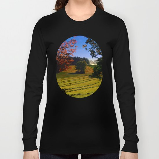 Tree watching in springtime Long Sleeve T-shirt