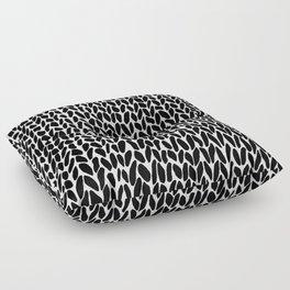 Hand Knit Zoom Floor Pillow