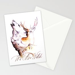 The Marauders - We Are Wild Stationery Cards