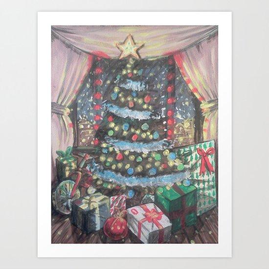 Christmas Morn Art Print