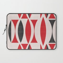 Seventies in Cherry Red Laptop Sleeve