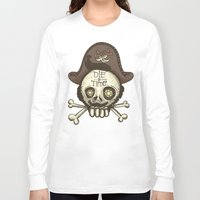 pirate Long Sleeve T-shirts featuring pirate by adi katz