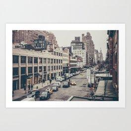 Tough Streets - NYC Art Print
