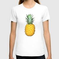 pineapples T-shirts featuring Big Pineapples by CumulusFactory