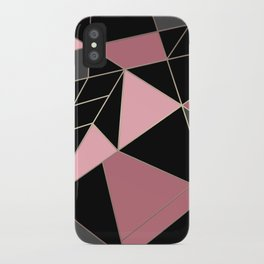 Abstraction . Geometric pattern 3 iPhone Case