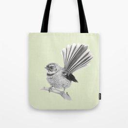 Piwakawaka   NZ Fantail Tote Bag