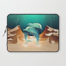 Dolphin Desert Laptop Sleeve