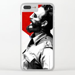 Fidel Castro Clear iPhone Case