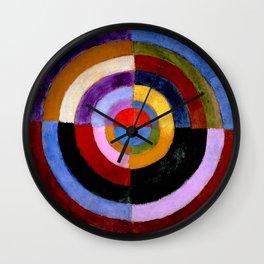 "Robert Delaunay ""Premier Disque"" Wall Clock"