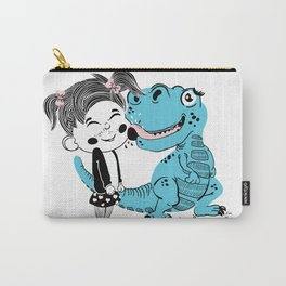 Girl and her friend Carry-All Pouch