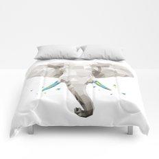 Geosafari   Elephant (White) Comforters