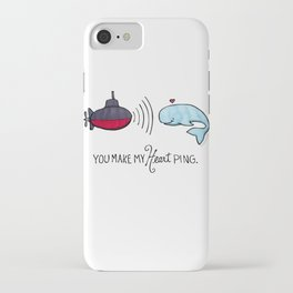 You Make My Heart Ping iPhone Case