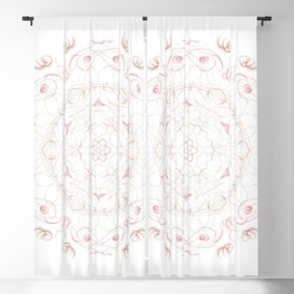 Sweet Rose Blackout Curtain