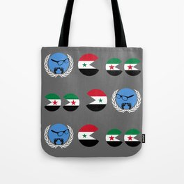 United Nations is watching Syria Tote Bag