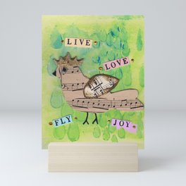 Live Love Mini Art Print