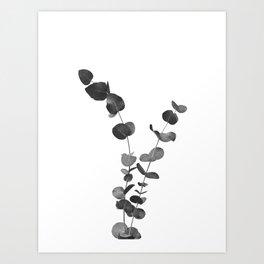 Eucalyptus Leaves Dream #2 #foliage #decor #art #society6 Art Print