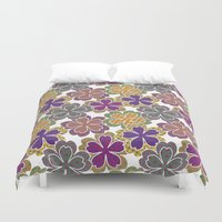 sakura Duvet Covers featuring Sakura by AnaAna