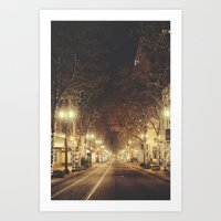 portland Art Prints featuring Portland by Tasha Marie