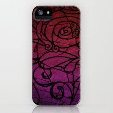 Scarred Rose iPhone (5, 5s) Slim Case