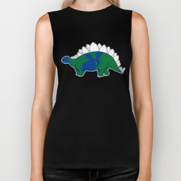 Earth Steggy Biker Tank