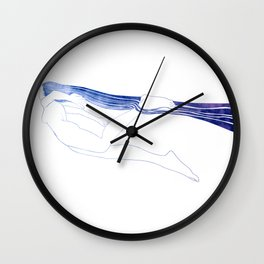 Water Nymph LI Wall Clock
