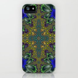 Fractal Coat Of Arms iPhone Case