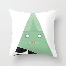 elegantes Dreieck Throw Pillow