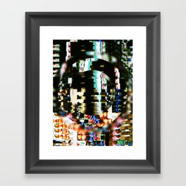 The Interference Framed Art Print