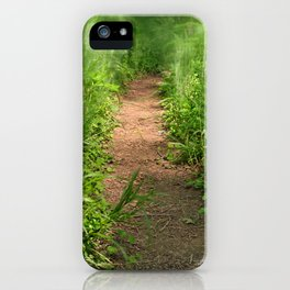 Windy Goose Creek Trail iPhone Case