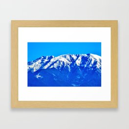 Close-up of the Carpathians Mountains, Transylvania Framed Art Print
