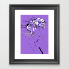 Beatz unlimited for a limited time Framed Art Print