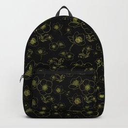 Hellebore flowers Backpack