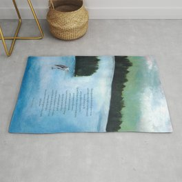 Ode to Peace of Wild Things Rug