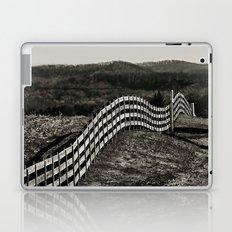 Rolling Fence Line Laptop & iPad Skin
