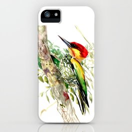 Lita Woodpecker iPhone Case