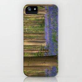 Hallerbos 4 iPhone Case