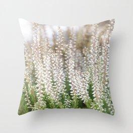 Whitegreen Throw Pillow