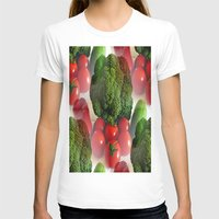 vegetables T-shirts featuring Healthy Vegetables by Art-Motiva
