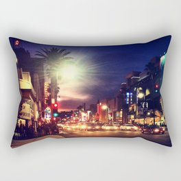 Hollywood BLVD. Rectangular Pillow