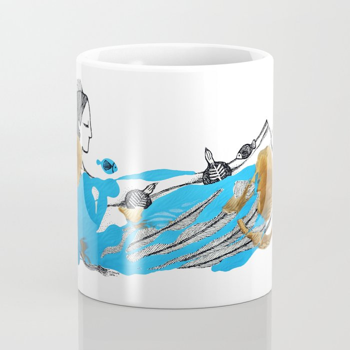 Rain Angel Coffee Mug